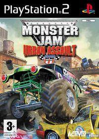 Portada oficial de Monster Jam: Urban Assault  para PS2