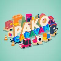 Portada oficial de PAKO Caravan para Switch