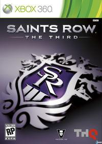 Portada oficial de Saints Row: The Third para Xbox 360