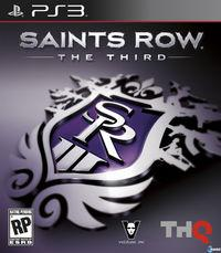 Portada oficial de Saints Row: The Third para PS3