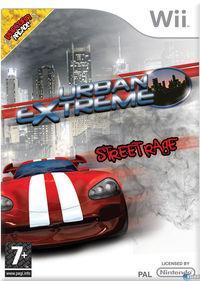 Portada oficial de Urban Extreme: Street Rage para Wii
