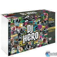 Portada oficial de DJ Hero para PS3