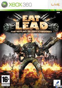 Portada oficial de Eat Lead: The Return of Matt Hazard para Xbox 360