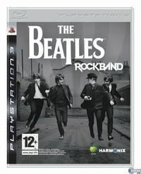 Portada oficial de The Beatles: Rock Band para PS3
