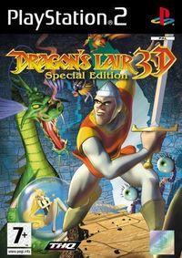 Portada oficial de Dragon's Lair 3D para PS2