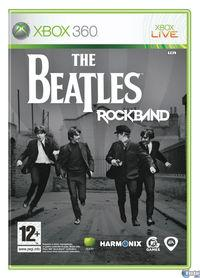 Portada oficial de The Beatles: Rock Band para Xbox 360