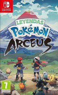 Portada oficial de Leyendas Pokémon Arceus para Switch