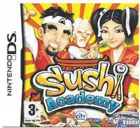 Portada oficial de Sushi Academy para NDS