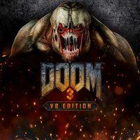 Portada oficial de Doom 3: VR Edition para PS4