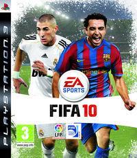 Portada oficial de FIFA 10 para PS3