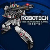 Portada oficial de Robotech The Macross Saga HD Edition para Switch