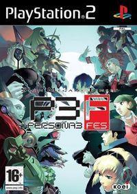 Portada oficial de Persona 3 FES para PS2
