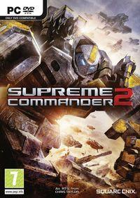 Portada oficial de Supreme Commander 2 para PC