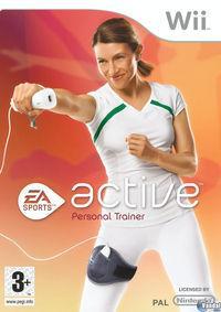 Portada oficial de EA Sports Active Personal Trainer para Wii
