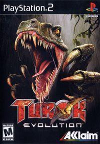 Portada oficial de Turok Evolution para PS2