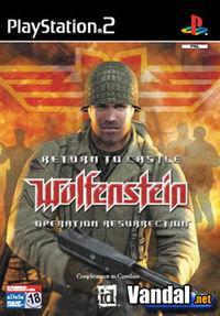 Portada oficial de Return to Castle Wolfenstein: Operation Resurrection para PS2