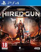 Portada oficial de de Necromunda: Hired Gun para PS4