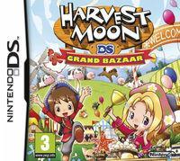 Portada oficial de Harvest Moon: Grand Bazaar para NDS