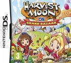 Portada oficial de de Harvest Moon: Grand Bazaar para NDS