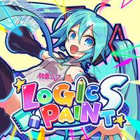 Portada oficial de Hatsune Miku Logic Paint S para Switch