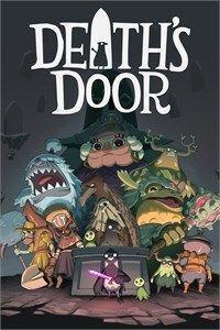 Portada oficial de Death's Door para Xbox Series X/S