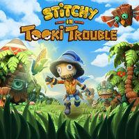 Portada oficial de Stitchy in Tooki Trouble para Switch