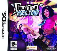 Portada oficial de Guitar Rock Tour DSiW para NDS