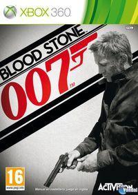 Portada oficial de James Bond 007: Blood Stone para Xbox 360