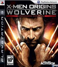 Portada oficial de X-Men Orígenes: Lobezno para PS3