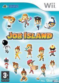 Portada oficial de Job Island para Wii