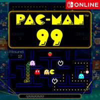 Portada oficial de Pac-Man 99 para Switch