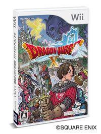 Portada oficial de Dragon Quest X para Wii