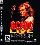 Portada oficial de de AC/DC Live: Rock Band Track Pack para PS3