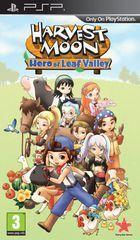 Portada oficial de de Harvest Moon: Hero of Leaf Valley para PSP