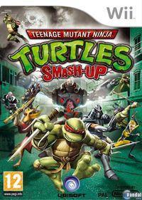 Portada oficial de Teenage Mutant Ninja Turtles: Smash-Up para Wii