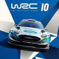 Portada oficial de WRC 10 para PS4