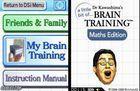 Portada oficial de de A Little Bit of... Dr. Kawashima's Brain Training: Maths Edition DSiW para NDS