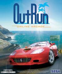 Portada oficial de OutRun Online Arcade PSN para PS3