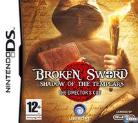 Portada oficial de Broken Sword: Shadow of the Templars para NDS
