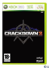 Portada oficial de Crackdown 2 para Xbox 360