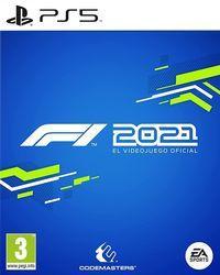 Portada oficial de F1 2021 para PS5