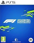 Portada oficial de de F1 2021 para PS5
