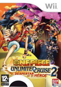 Portada oficial de One Piece Unlimited Cruise 2: El despertar de un héroe para Wii