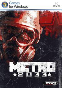 Portada oficial de Metro 2033 para PC