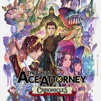 Portada oficial de The Great Ace Attorney Chronicles para Switch