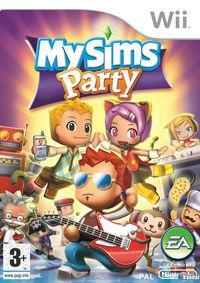 Portada oficial de MySims Party para Wii