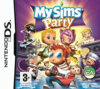 Portada oficial de MySims Party para NDS