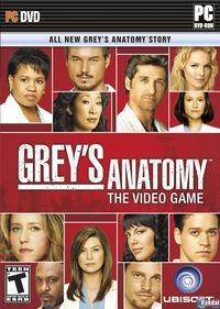Portada oficial de Anatomía de Grey: El videojuego para PC
