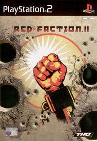 Portada oficial de Red Faction 2 para PS2