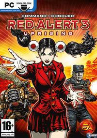Portada oficial de Command and Conquer: Red Alert 3 - Uprising para PC